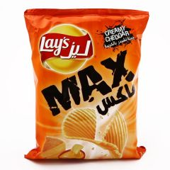 Lays Max Creamy Cheddar Chips 50G |?sultan-center.com????? ????? ???????