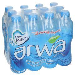 Arwa Bottled Drinking Water Bottle  0.5L  X 12Pcs |sultan-center.comمركز سلطان اونلاين