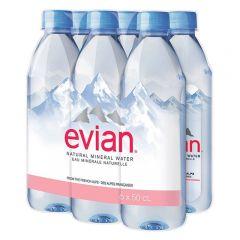Evian Mineral Water Bottle  500Ml |sultan-center.comمركز سلطان اونلاين