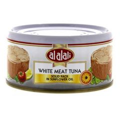 Al Alali White Meat Tuna In Sunflower Oil  Solid Pack