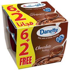 Alsafi Danette Chocolate Pudding 6+2 Free