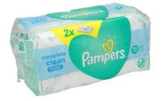 Pampers Fresh Clean Baby Wipes With Aloe 128Pcs |?sultan-center.com????? ????? ???????