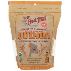 Bob's Red Mill Organic Gluten-Free Whole Grain Quinoa 737G |sultan-center.comمركز سلطان اونلاين