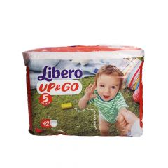 Libero Up & Go Size 5 10-14KG 42Pcs |?sultan-center.com????? ????? ???????