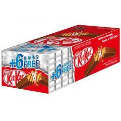 Kit Kat Crispy Wafer Milk Chocolate 2 Fingers  20.5G X 36 + 6 Free |sultan-center.comمركز سلطان اونلاين