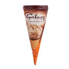 Galaxy Hazelnut & Chocolate Ice Cream cone 110Ml |?sultan-center.com????? ????? ???????