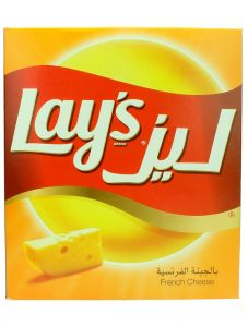 Lays French Cheese Potato Chips  25G X 14Pcs |?sultan-center.com????? ????? ???????