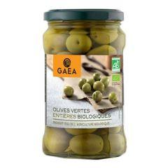 Gaea Organic Green Olympian Olives