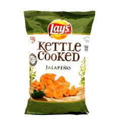 Lays Kettle Cooked Jalapeno Potato Chips