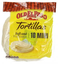 Old El Paso Soft & Flexible Tortillas 10 Mini 250G  ?sultan-center.com????? ????? ???????