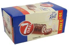 7 Days Vanilla Swiss Roll