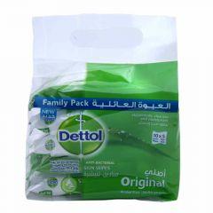 Dettol Original Anti-Bacterial Skin Wipes  10Wipes X 5Pcs |?sultan-center.com????? ????? ???????