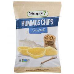 Simply 7 Sea Salt Pepper Hummus Chips