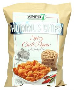Simply 7 Spicy Chili Pepper Hummus Chips
