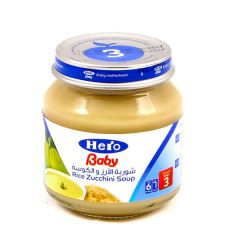 Hero Baby Rice & Zucchini Soup 125G |?sultan-center.com????? ????? ???????
