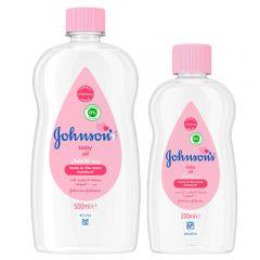Johnson'S Baby Oil  500ml + 200ml free