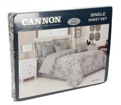 Cannon Assorted Twin Size Flat Sheet