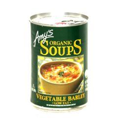 Amy's Organic Vegetable Barley Soup 400G |?sultan-center.com????? ????? ???????