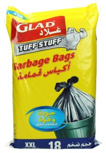 Glad Tuff Stuff Double Extra Large Garbage Bags 18Ct |?sultan-center.com????? ????? ???????