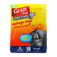 Glad Handle Tie Extra Large Garbage Bags 18Ct |?sultan-center.com????? ????? ???????