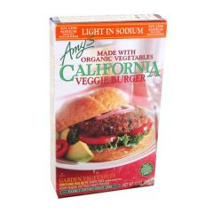 Amy's California Veggie Burger 10Oz |sultan-center.comمركز سلطان اونلاين