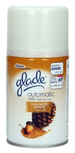Glade Cashmere Woods Automatic Refill Air Refresher  269Ml |?sultan-center.com????? ????? ???????