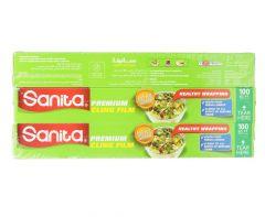 Sanita Premium Cling Film  100sq ft |sultan-center.comمركز سلطان اونلاين
