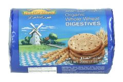 Natureland Organic Whole Wheat Digestives 200G |?sultan-center.com????? ????? ???????