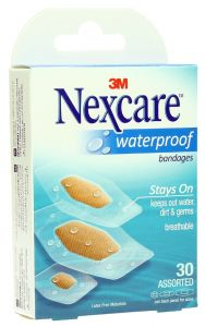 Nexcare Waterproof Comfort 360 Assorted Bandages  30Pcs |?sultan-center.com????? ????? ???????