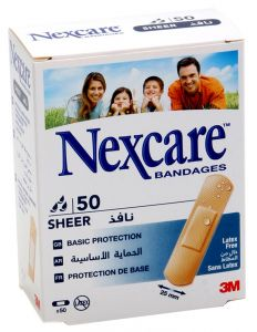 Nexcare Sheer Bandages  50Pcs |?sultan-center.com????? ????? ???????