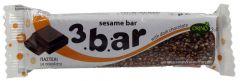 Orino 3 Sesame Bar With Dark Chocolate