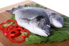 Slivery Black Seabream (Sobaity) Turkey (Farm) Per Kg |?sultan-center.com????? ????? ???????