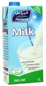 al Marai Long Life Full Fat Fresh Milk Screw Cap 1L |?sultan-center.com????? ????? ???????