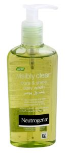 Neutrogena Visibly Clear Pore And Shine Daily Scrub 200Ml |?sultan-center.com????? ????? ???????