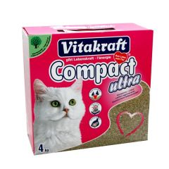 Vitakraft Compact Ultra Clumping Cat Litter 4Kg |?sultan-center.com????? ????? ???????