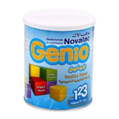 Novalac Genio Vanilla Flavoured Growth Formula  400G |?sultan-center.com????? ????? ???????
