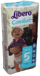Libero Comfort 5 Baby Diapers 10-14 Kg
