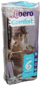 Libero Comfort 6 Baby Diapers 13-20 Kg