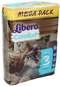 Libero Comfort Diaper Size 3 (Midi) 5-9KG