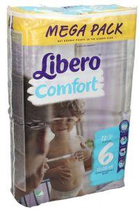 Libero Comfort 6 Baby Diapers Mega Pack 13-20 Kg