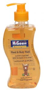 Higeen Oud Fragrance Antiseptic Hand & Body Wash
