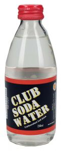 Club Soda Water Carbonated Soft Drink Bottle