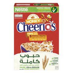Nestle honey cheerios 5 whole grain cereal