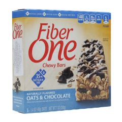 General Mills Fiber One Oats & Chocolate Chewy Bars 40G X 5Pcs |?sultan-center.com????? ????? ???????