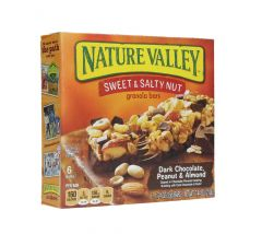 Nature Valley Sweet & Salty Dark Chocolate Granola Bars 35G X 6Pcs |?sultan-center.com????? ????? ???????