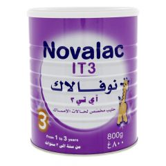 Novalac It3 Baby Milk Powder From 1 To 3 Years  800G |?sultan-center.com????? ????? ???????