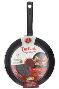 Tefal New Tempo Flame Frypan With Cover  26cm