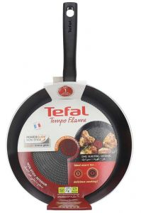 Tefal New Tempo Flame Frypan With Cover  28cm