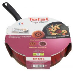 Tefal New Tempo Flame Sautepan With Cover  24cm