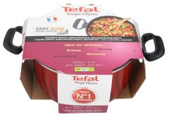 Tefal New Tempo Flame Stewpot With Cover  26cm